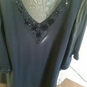 Bagley Misha Embellished Blouse size M